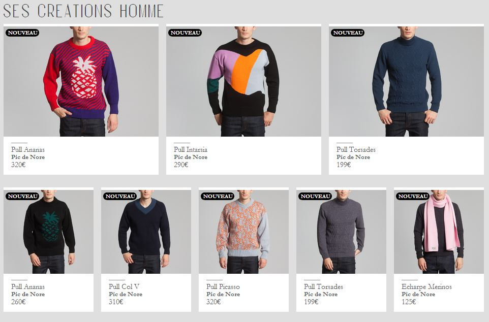 picdenore_madeinfrance_pull_homme_lexception